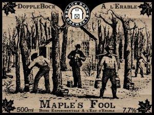 Doppelbock à l'eau d'érable