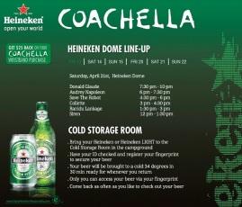 Heineken - COACHELLA