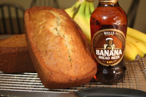 Pain aux bananes à la Wells Bread Banana Beer