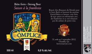 St-Bock - La Complice 2012