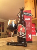 5- Revolution Brewing - Deth's Tar: I was very surprise to drink this beer as I never had anything from them. They seems to be handling the barrel aging very well. This time, for a rare time, I was happy to drink this beer with only another person. That means I had more in my glass !