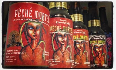 Péché Mortel vieillie en fût de Bourbon, versions 2015/2013/2012/2011